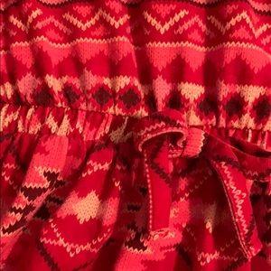 Faded Glory Dresses - Girls Faded Glory red print dress, size 7-8